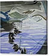Inbetween Canvas Print