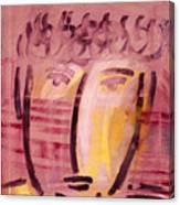 Inca Head Canvas Print