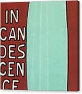 Incandescence Par Le Gaz  1892 Canvas Print