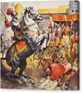 Incas Canvas Print