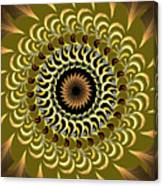 Incendia Kaleidoscope Canvas Print