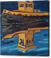 Incognito Tug Canvas Print