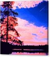 Incoming Over Algonquin Park 2 Ae Canvas Print