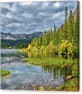 Incoming Storm At Twin Lakes Canvas Print