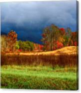 Incoming Storm Canvas Print
