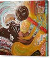 Incomplete Koko Canvas Print