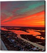 Incredible Point Sunset Canvas Print