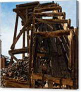 Independence Gold Mine Ruins Canvas Print