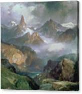 Index Peak Canvas Print