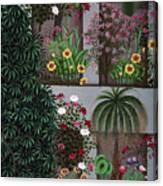 India: Garden Canvas Print