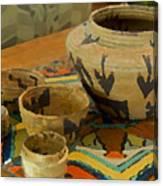 Indian Baskets 1 Canvas Print