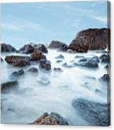 Indian Beach At Ecola State Park, Oregon  Canvas Print