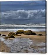 Indian Beach Canvas Print