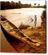 Indian Boat Canvas Print