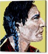 Indian Brave II Canvas Print