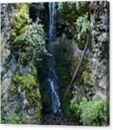 Indian Canyon Waterfall Canvas Print