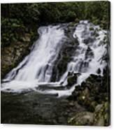 Indian Creek Falls 1 Canvas Print