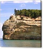 Indian Head Rock Canvas Print