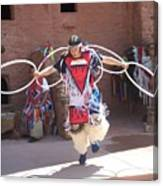 Indian Hoop Dancer Canvas Print
