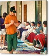 Indian Market Canvas Print