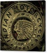 Indian Motorcycle Logo Canvas Print