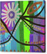 Indian Rainbow Dance Canvas Print