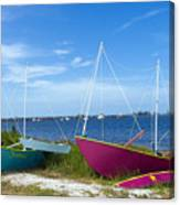 Indian River Lagoon On The Easr Coast Of Florida Canvas Print
