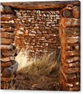 Indian Ruins Doorway Canvas Print