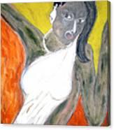 Indian Tribal Woman Canvas Print