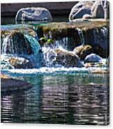 Indian Wells Waterfall Canvas Print