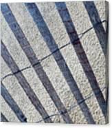 Indiana Dunes Beach Fence Canvas Print