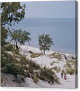Indiana Dunes State Park Provides Canvas Print