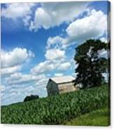 Indiana Farm Scene Canvas Print