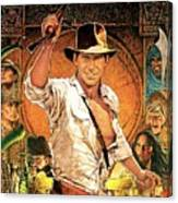 Indiana Jones Raiders Of The Lost Ark 1981 Canvas Print