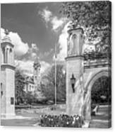 Indiana University Sample Gates Canvas Print