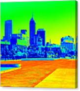 Indianapolis Heat Tone Canvas Print