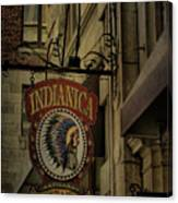 Indianica Montreal Canvas Print