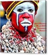 Indigenous Woman L A Canvas Print