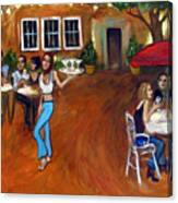 Indigo Alley Canvas Print