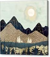Indigo Forest Canvas Print