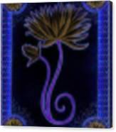 Indigo Lily Canvas Print