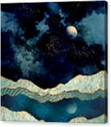 Indigo Sky Canvas Print