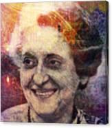 Indira Canvas Print