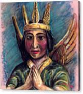 Indian Angel Canvas Print
