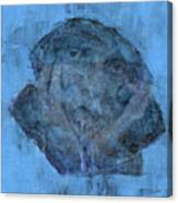 Indistincint Blues Canvas Print