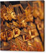 Indonesian Dolls Canvas Print