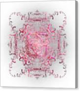 Indulgent Pink Lace Canvas Print