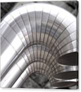 Industrial Air Ducts Canvas Print