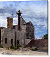 Industrial Cement Factory Canvas Print
