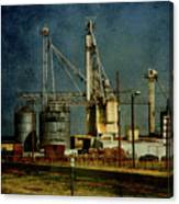 Industrial Farming In Texas Canvas Print